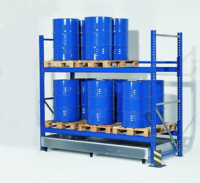 Spill Containment Sump For Pallet Racks 108 Quot
