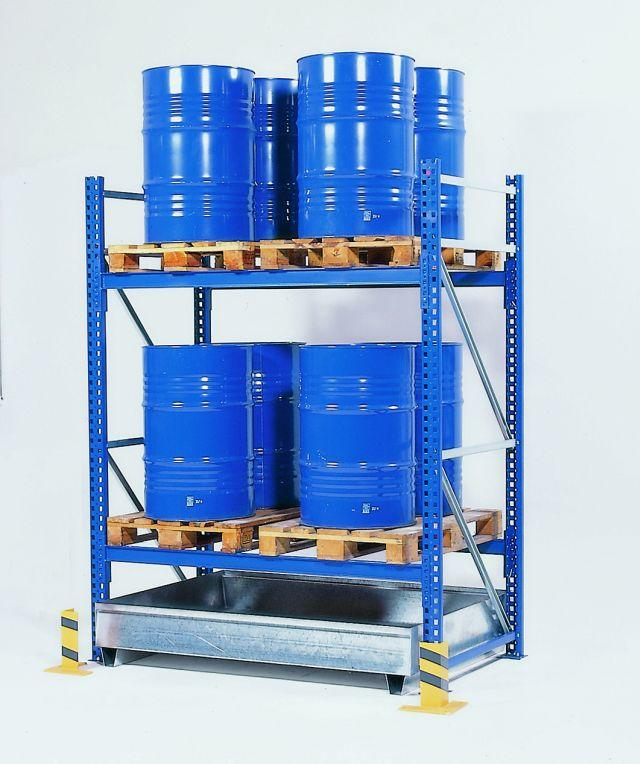 """Pallet Rack Spill Containment Sump - 54"""""""