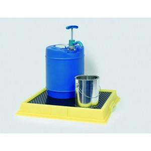 Poly Lab Spill Tray - Lab Tray (Yellow)