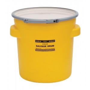 Poly Salvage Drums - 20 Gallon