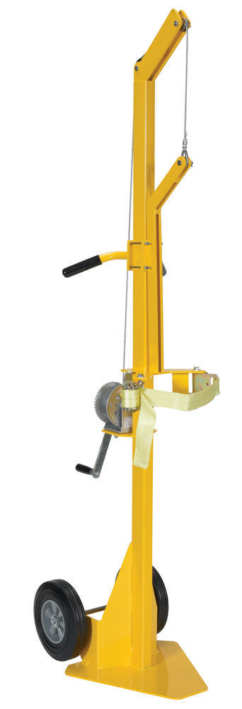 Portable Cylinder Lifter-Hard Rubber - 1