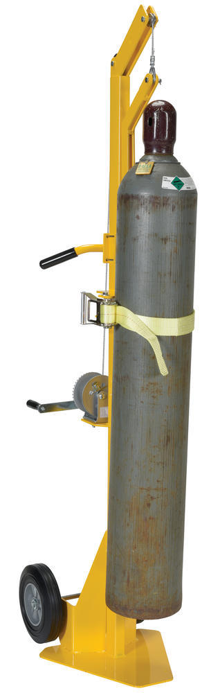 Portable Cylinder Lifter-Hard Rubber - 5