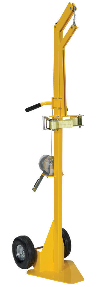 Portable Cylinder Lifter-Pneumatic Tires - 1