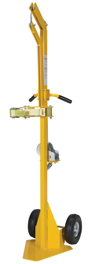 Portable Cylinder Lifter-Pneumatic Tires