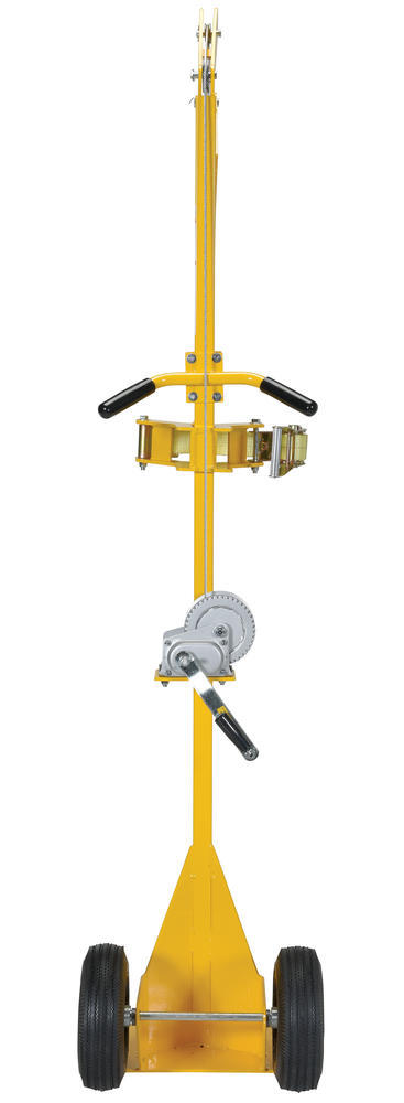 Portable Cylinder Lifter-Pneumatic Tires - 4