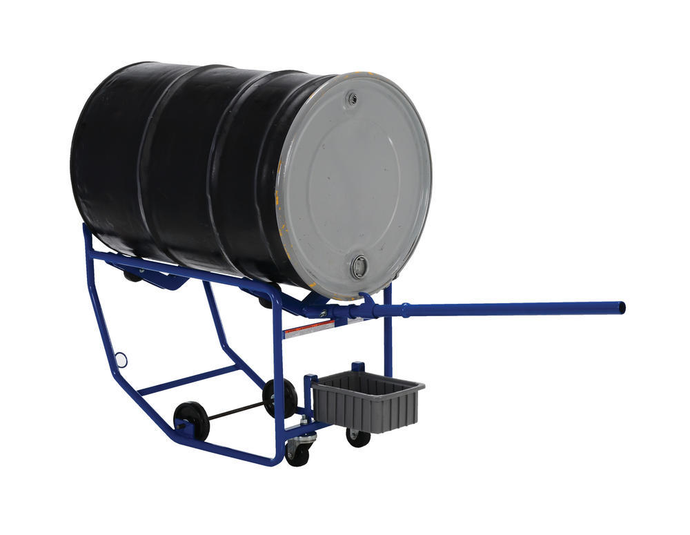 Revolving Drum Cart 600 Lb Dual