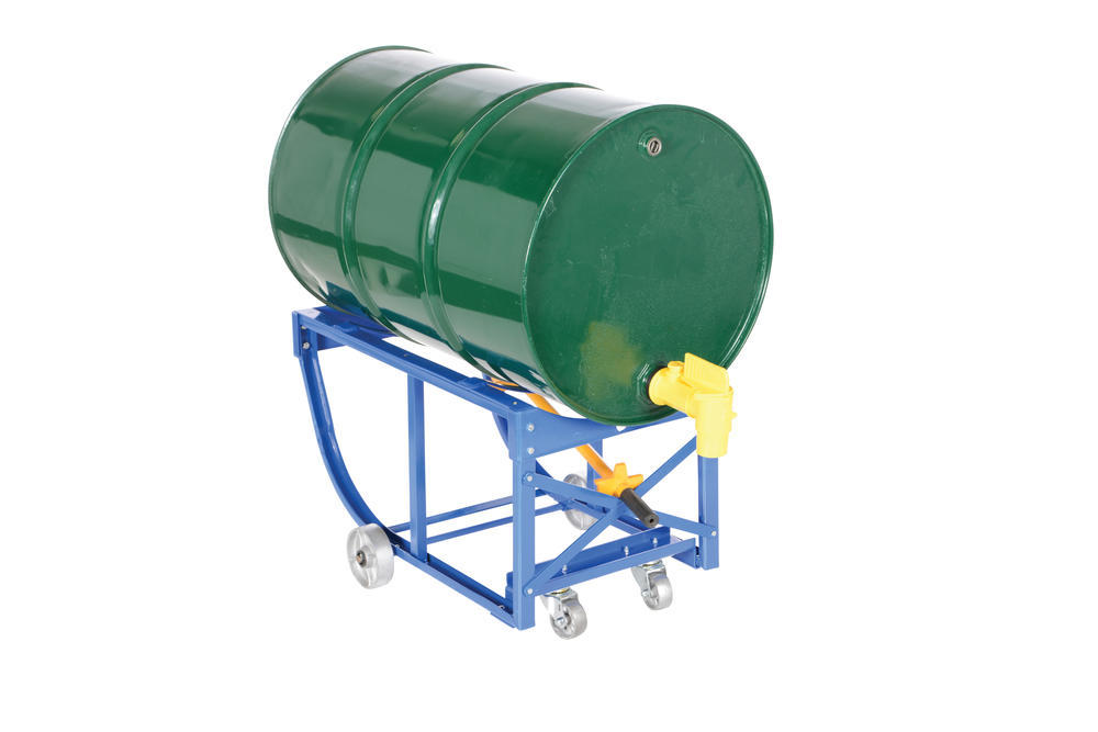Rotating Drum Cart Steel Wheels 800Lb - 15