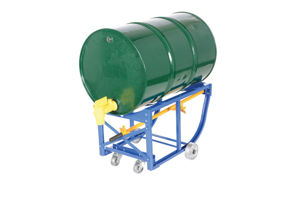 Rotating Drum Cart Steel Wheels 800Lb - 16