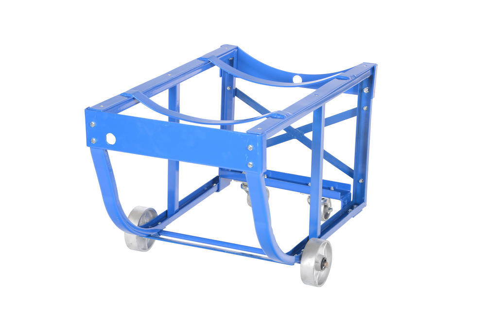 Rotating Drum Cart Steel Wheels 800Lb - 21