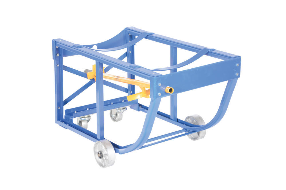 Rotating Drum Cart Steel Wheels 800Lb - 5