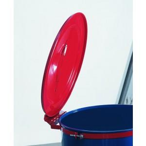 Self-Closing Fire Safe Drum Cover - 55 Gallon Self Close - 1