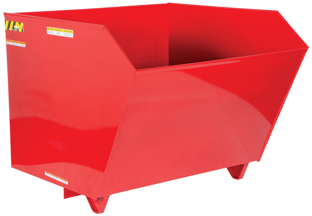 Self Dumping Hopper Hd 1.5 Cu Yard Red
