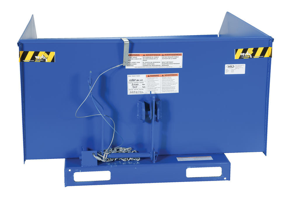 Self-Dumping Hopper Light Duty 1 Cu Yd