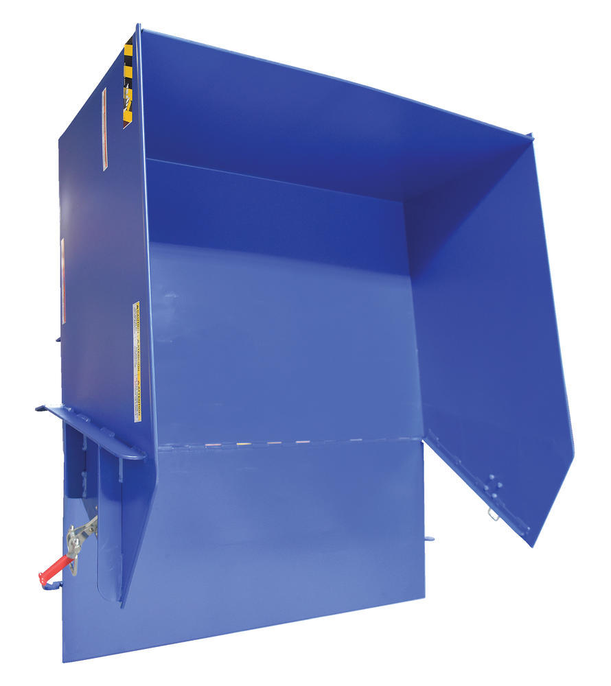 Self-Dumping Hopper Light Duty 1 Cu Yd - 6