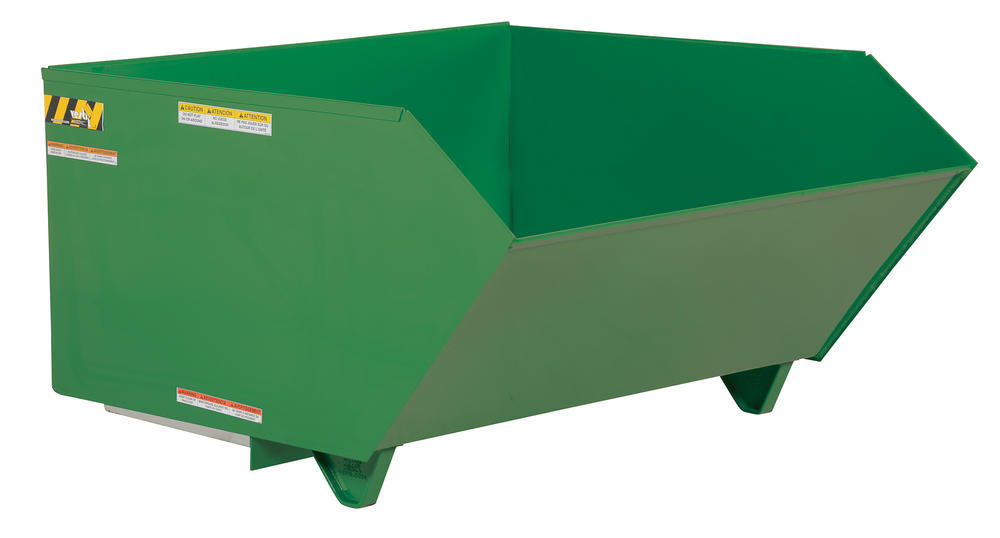 Self Dumping Hopper Md 1 Cubic Yard Grn - 1