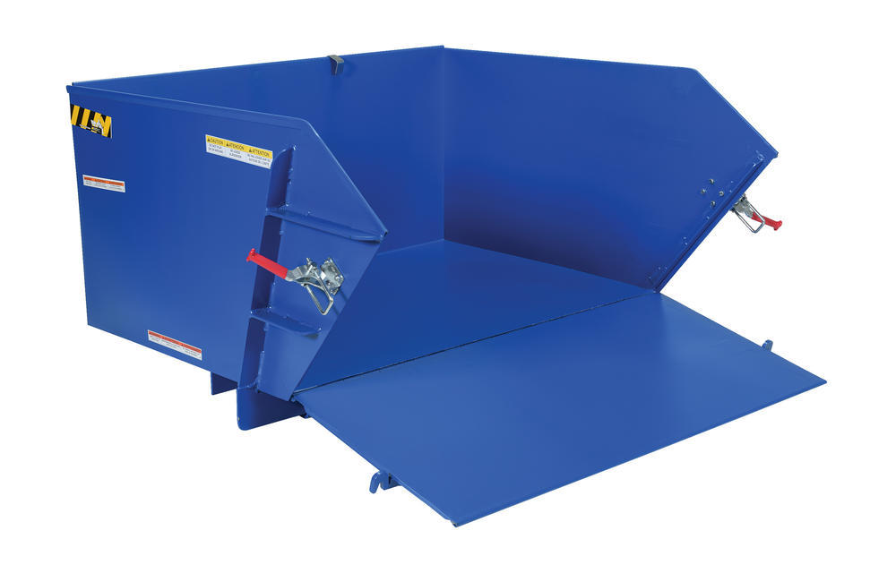 Self-Dumping Hopper Medium Duty 1 Cu Yd - 1