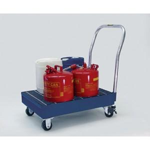 Spill Cart - 16 Gallon - 16-gal with Grating Platform