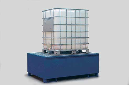 Spill Sump - Steel 350 Gal IBC - 53 x 72 (Painted)