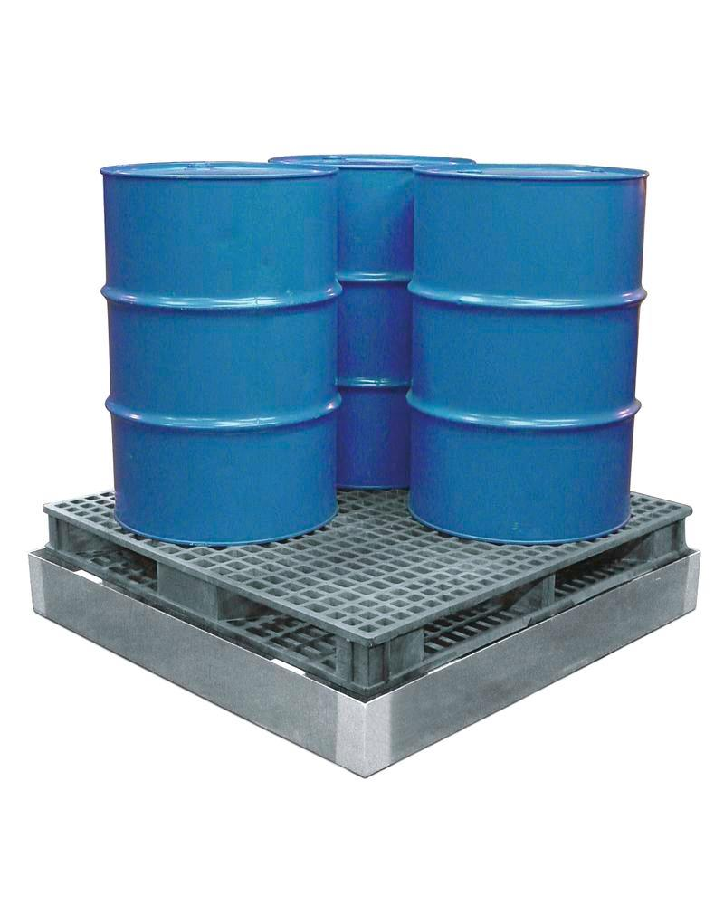 Spill Sump - Steel with Integrated Pallet Support - 1 Pallet Sump