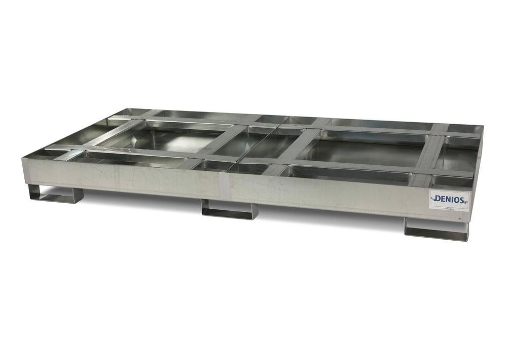 Spill Sump - Steel with Integrated Pallet Support - 2 Pallet