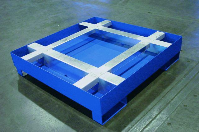 Spill Sump - w/Integrated Pallet Support - 1 Pallet Sump - 1
