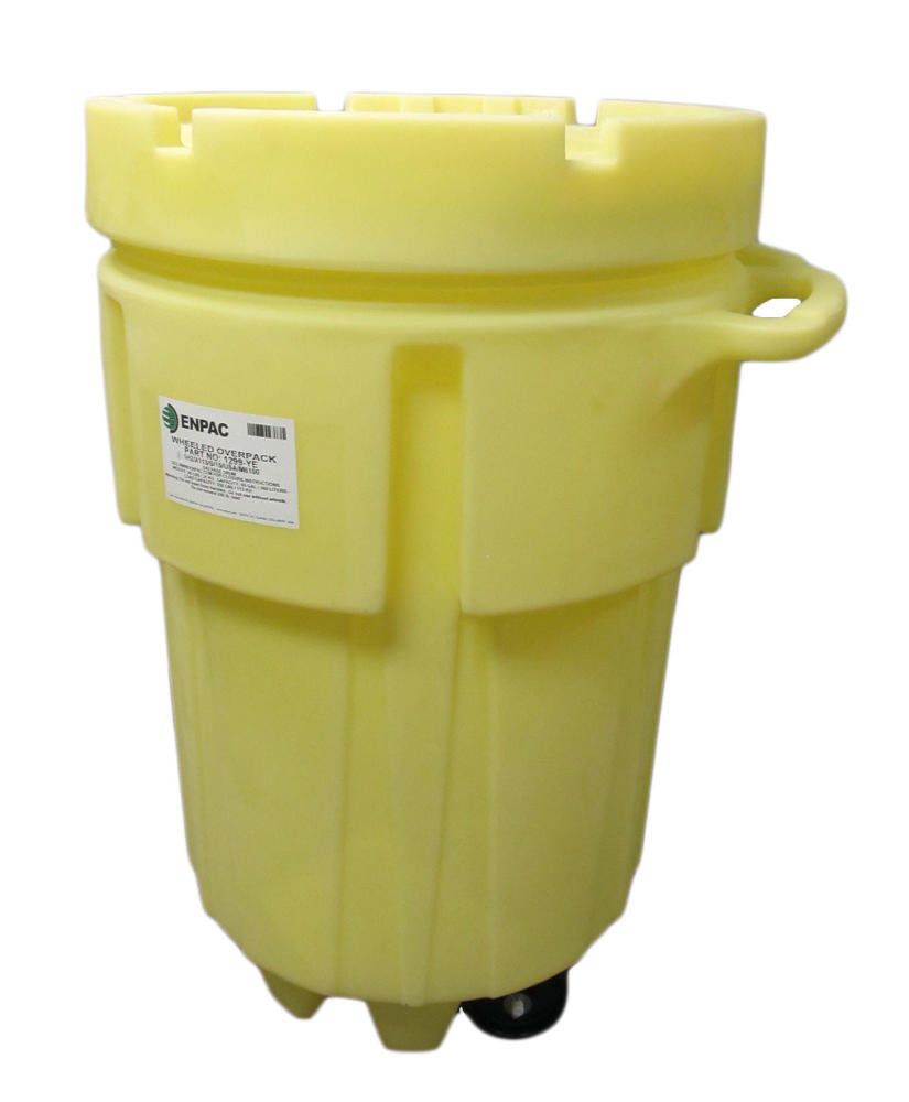 95 Gallon Wheeled Poly-Overpack Salvage Drum