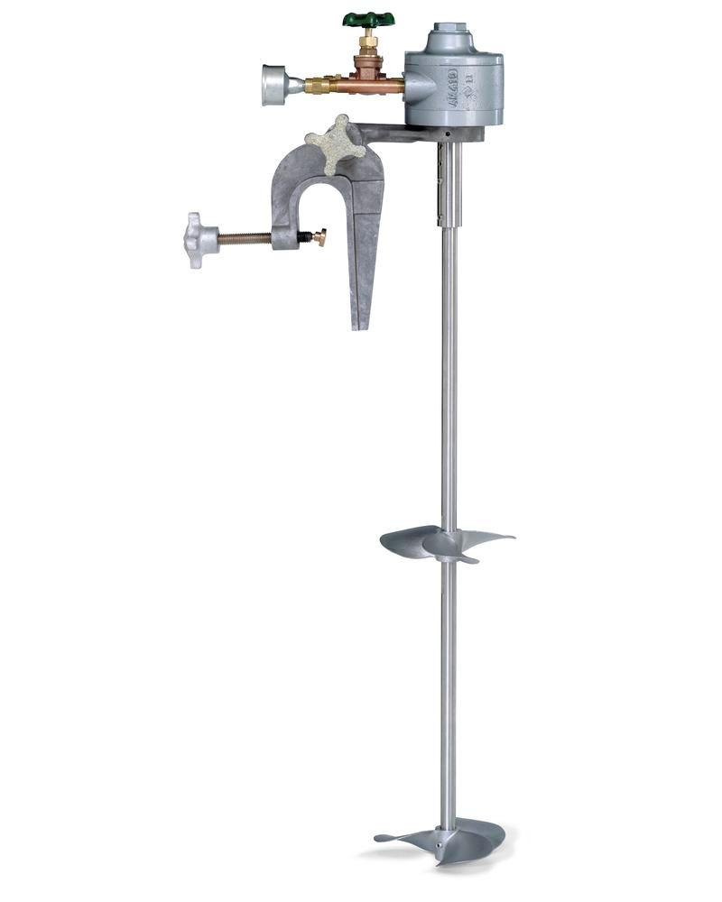 Air Powered C-Clamp Mounted Mixer
