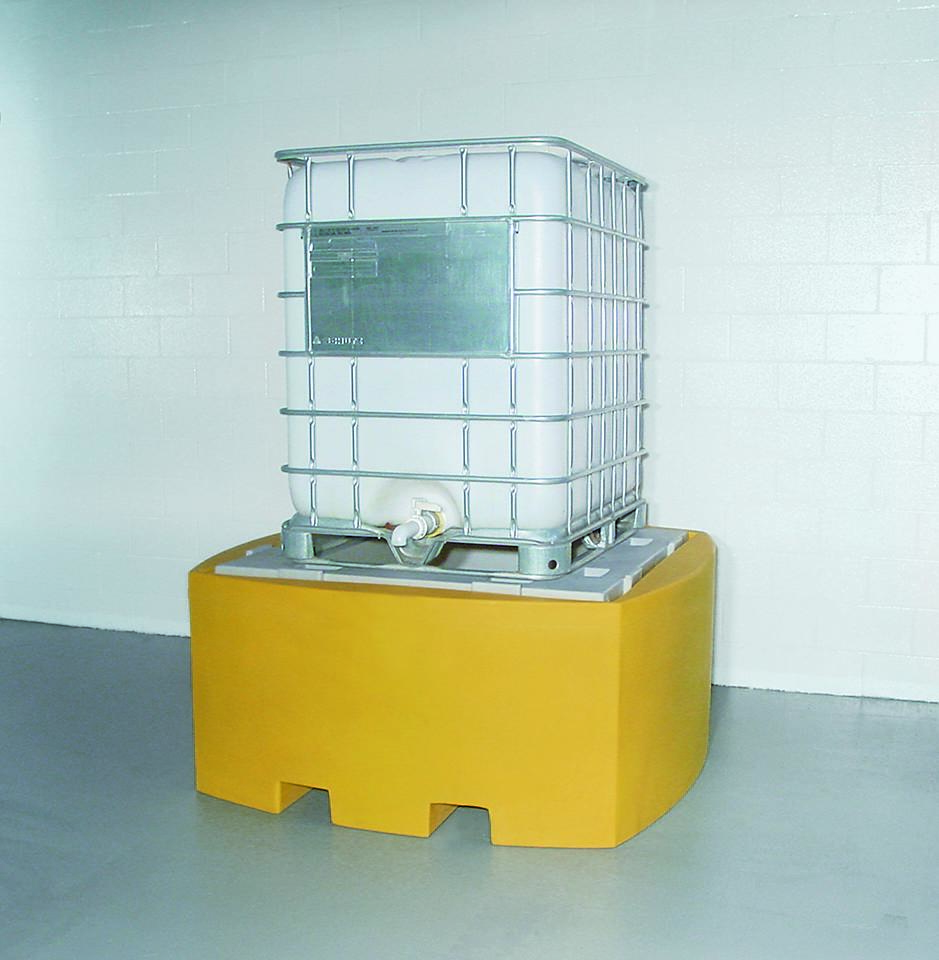 Broad Base Poly Sump for IBC