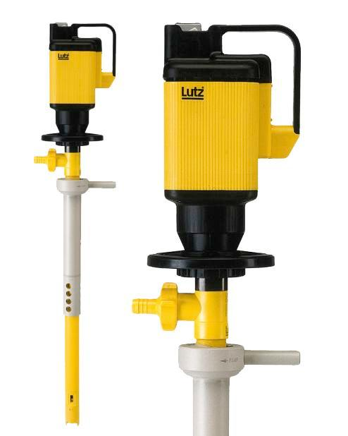 Combination Pump & Mixer - Explosion Proof - SS Tube