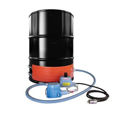 Explosion Proof Strip Heater - Steel Drum - 55 Gallon - 240V - T4A Environment