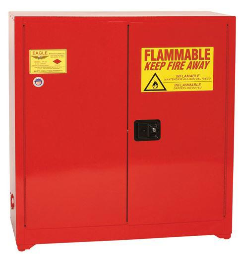 Flammable Paint & Ink Cabinet - 24 Gallon - Manual Doors