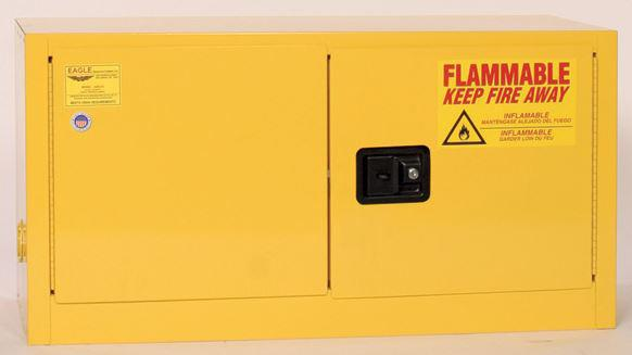 Flammable Safety Cabinet - 15 Gallon - Manual Doors