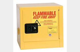 Flammable Safety Cabinet - 2 Gallon - Manual Doors
