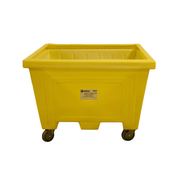 Large Tote w/Lid and 8 in. Wheels - 1