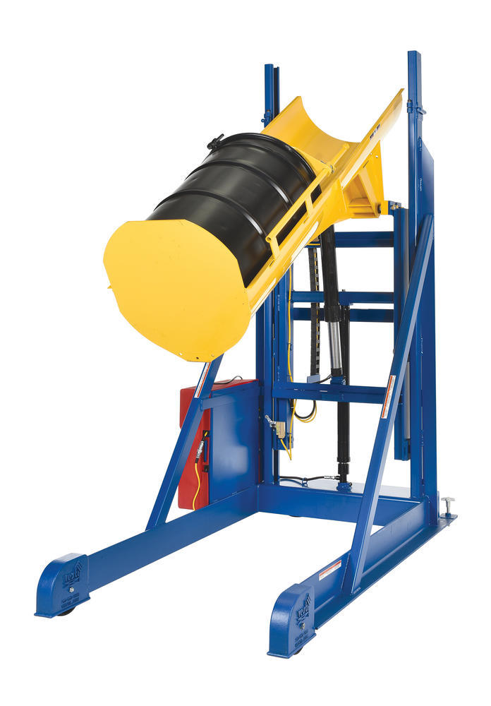 Portable Hyd Drum Lift-Dumper 1.5K 66 Dc - 6