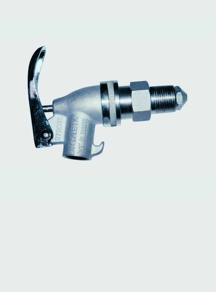 Self-Closing - Stainless Steel Faucet