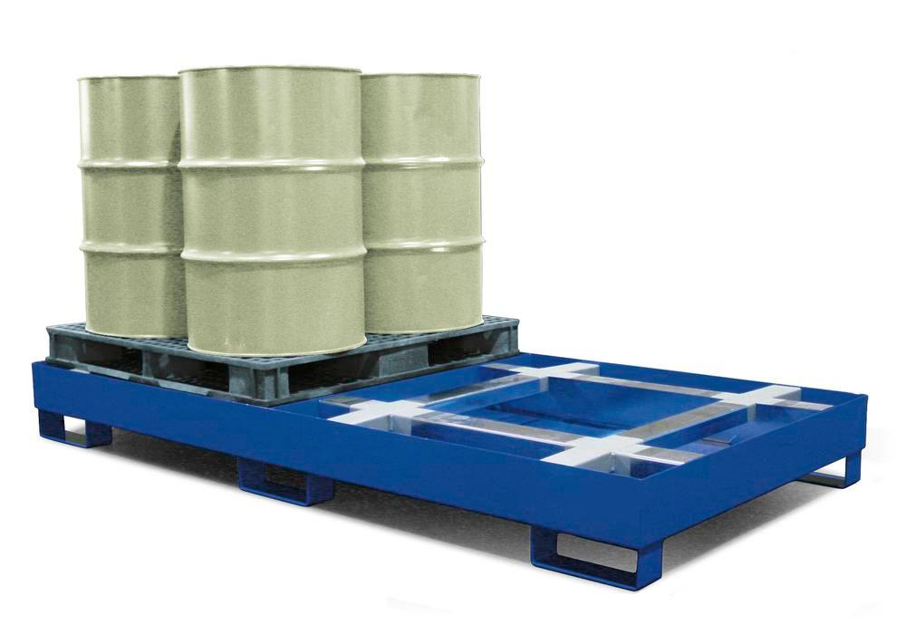 Spill Sump - w/ Integrated Pallet Support - 2 Pallet Sump