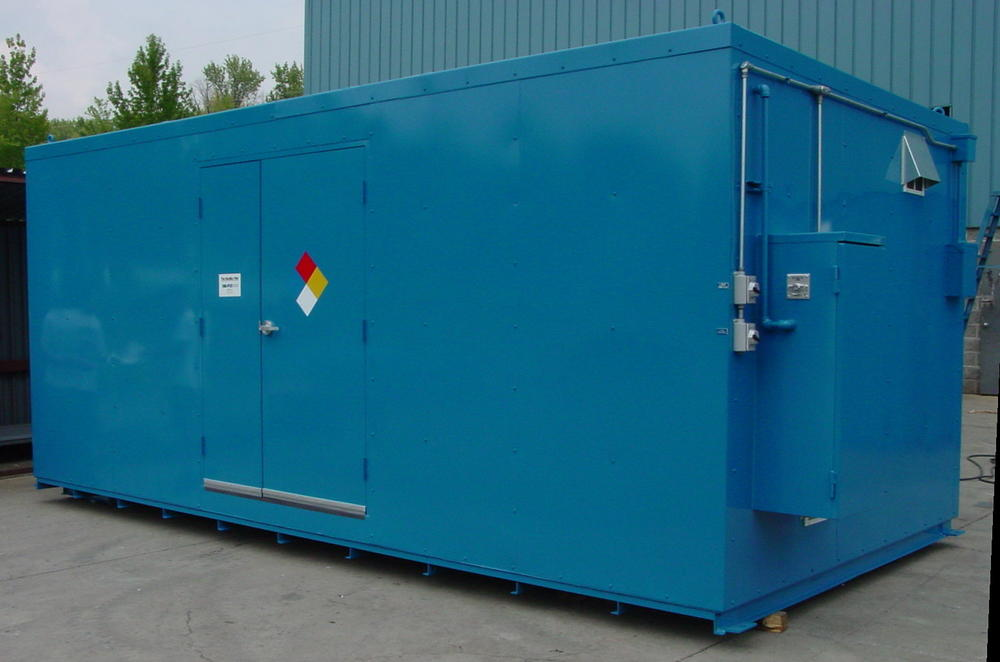 10' Non-Combustible Storage Building - 36 Drum