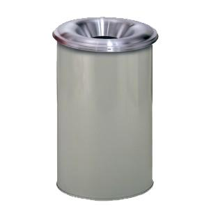 Aluminum Fire Suppressing Waste Can and Drum Cover - 30 Gal.