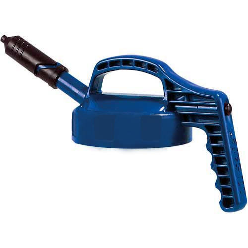 Blue Mini Spout Lid for Dispensing Bottle