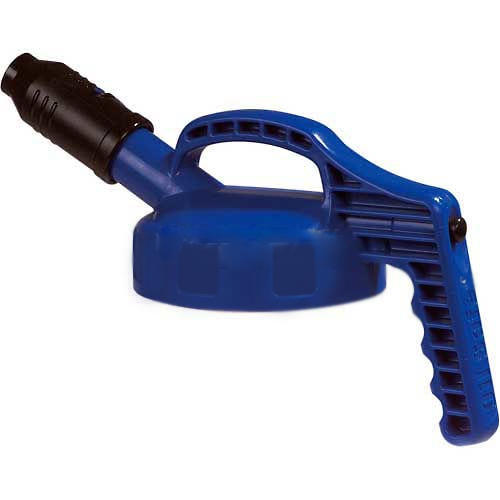 Poly Dispensing Container Stumpy Spout Lid Blue