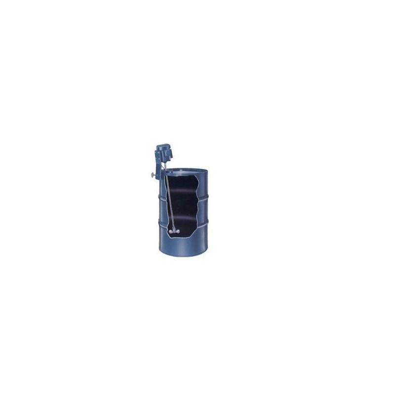 Drum Mixer - Rim Clamp - Low Viscosity Chemicals - Totally Enclosed Fan Cooled - 1/3 HP
