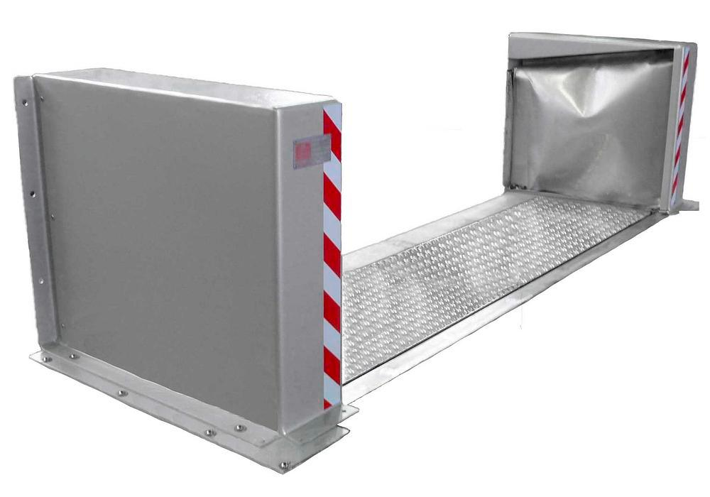 FM Approved Anhamm Automatic Doorway Spill Barrier 8' x 12""