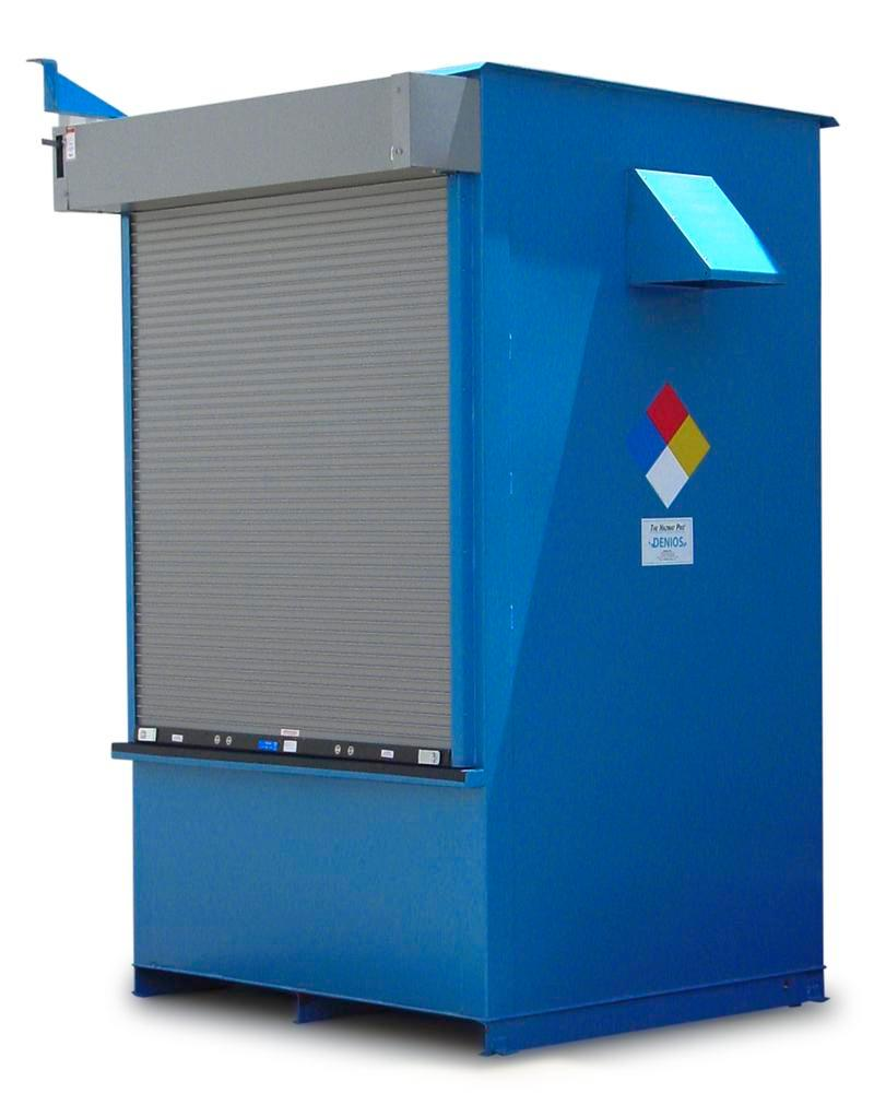 FM-Approved IBC Locker - 2 Hour Fire Rated - 90 mph Wind Rating - 1 IBC