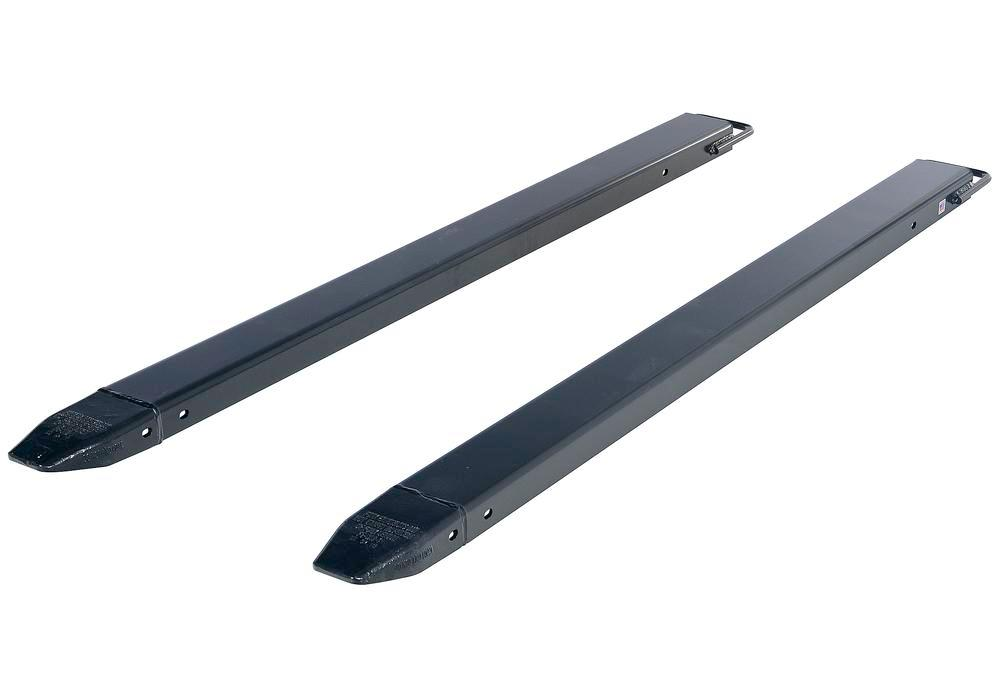 Fork Extension Black Pair 72L X 4W In - 2