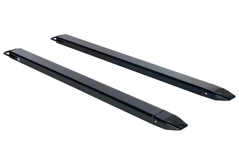 Fork Extension Black Pair 72L X 5W In