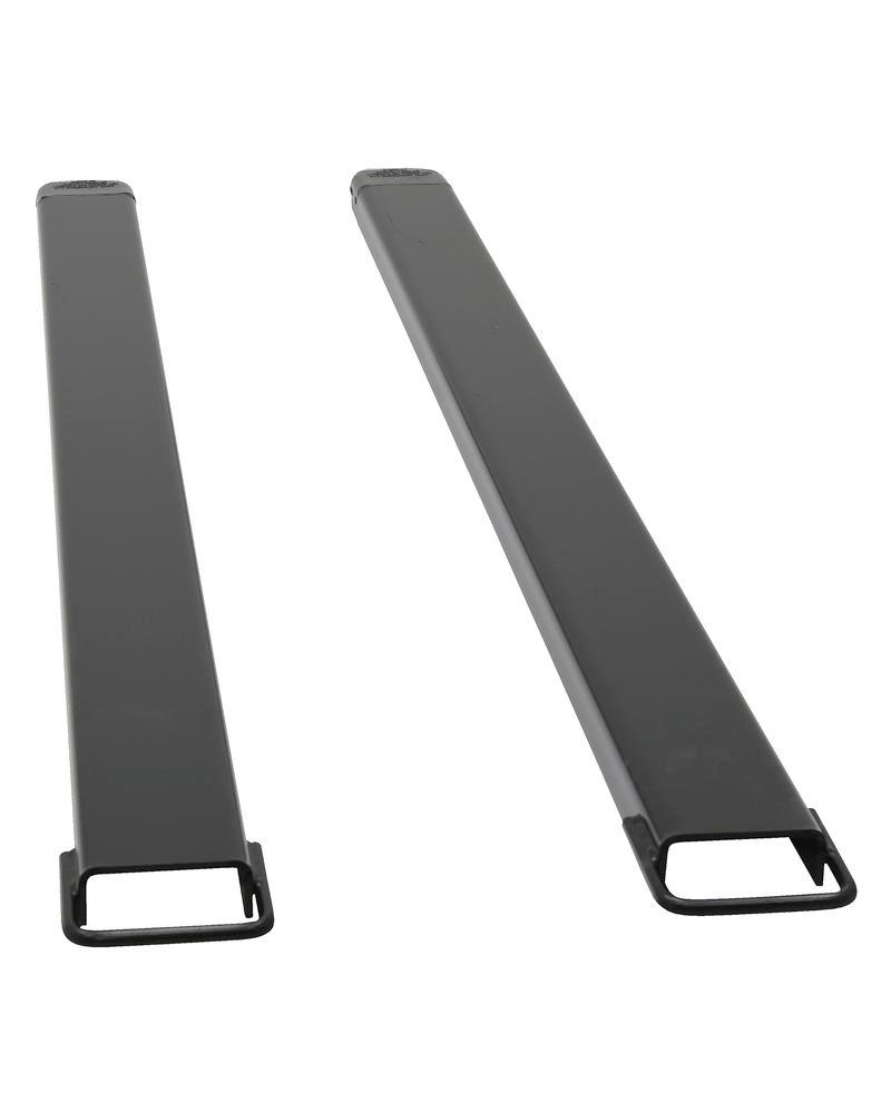 Fork Extension Black Pair 96L X 5W In