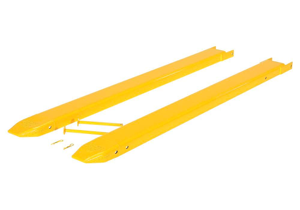 Fork Extensions Pin Style 72W X 6L In