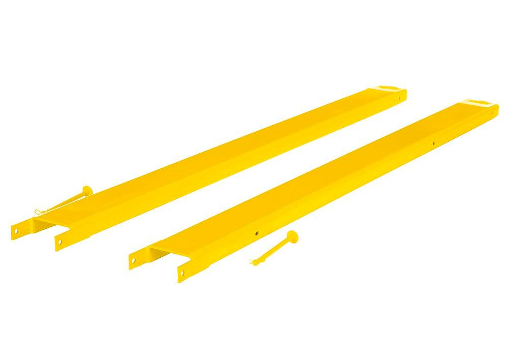 Fork Extensions Pin Style 96L X 6W In - 2