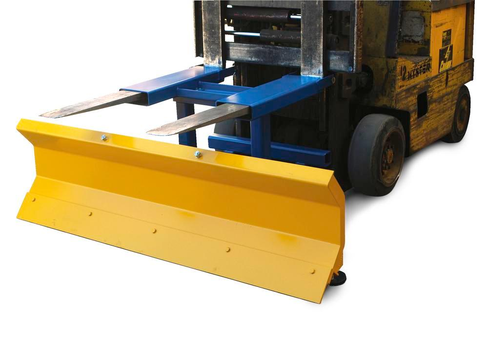 Fork Mount Snow Plow Blade 72 In Wide
